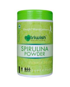 Powder - Spirulina (100 gm) - Nutriwish