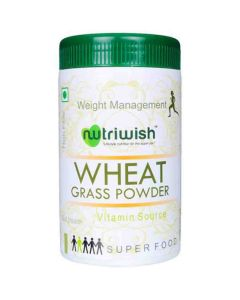 Powder - Wheat Grass (100 gm) - Nutriwish