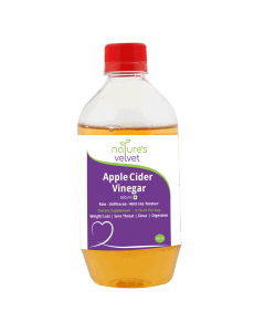 Apple Cider Vinegar with Mother (500 ml) - Natures Velvet