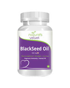 Black seed Oil 500 mg Capsules (60softgels) - Natures Velvet