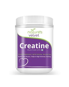 Micronised Creatine Powder (Unflavoured) 300 gm - Natures Velvet