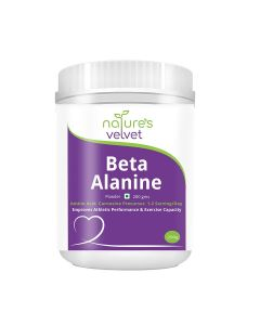 Beta-Alanine Powder (200 gm - Unflavored) - Natures Velvet