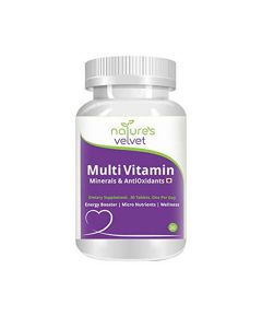Multivitamins Minerals and Antioxidants (30 Tablets) - Natures Velvet