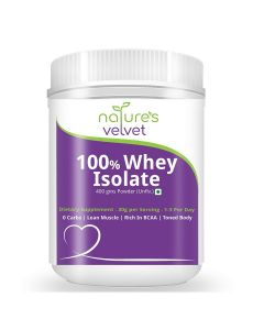 Whey Isolate Protein Powder BiPro (1000 gm) - Natures Velvet