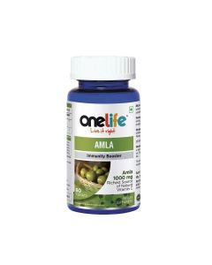 Amla Tablets (Immunity Booster) 60 Tablets - One Life