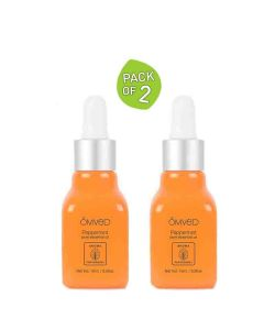 Peppermint Pure Essential Oil (Pack of 2 - 15 ml each) - Omved