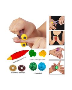 Acupressure Massage Set For Hand - Perfect Magnets