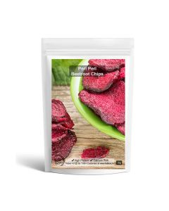 Peri-Peri Flavoured Beetroot Chips Pack of 2 - Fabbox
