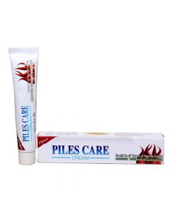 Piles Care Cream (30 gm) And Capsules (60 Capsules) - Chirayu Pharmaceuticals