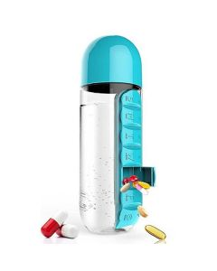 Pill Organizer Water Bottle - K Kudos