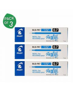 Frixion Ball Refill (Pack of 4 - Blue Ink) - Pilot