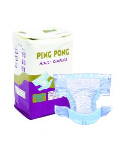 Adult Diaper Large-XL - Pack of 5 (75-150 cm waist size) - Ping Pong