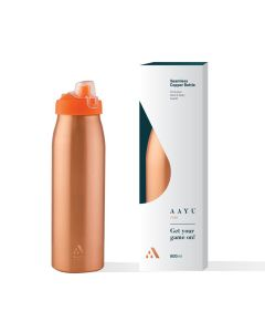 Play Pure Copper Bottle (850 ml) - AAYU