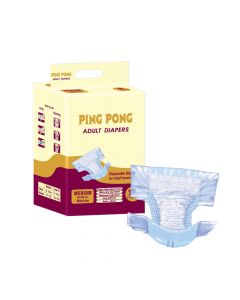 Adult Diaper Medium - Pack of 10 (65-120 cm waist size) - Ping Pong