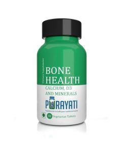 Bone Health Tablets with Calcium, D3 and Minerals (90 Tablets) - Purayati