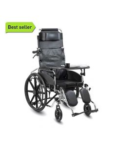 Recliner Cum Commode Wheelchair - KosmoCare