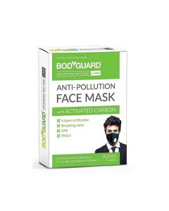 Reusable Anti Pollution Mask with Activated Carbon - BodyGuard