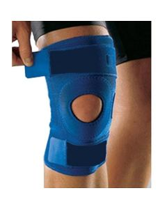 Hinged Knee Brace (Blue) - Kudize