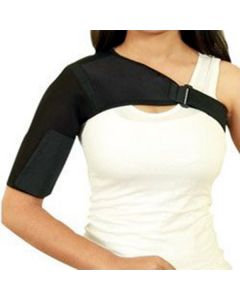 Adjustable Shoulder Support Belt (Black) - Kudize