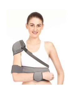 Elastic Shoulder Immobilizer With Arm Support - Kudize