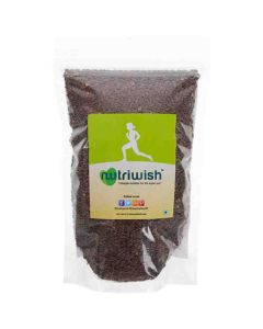 Flax Seeds - Roasted and Salted (250 gm) - Nutriwish