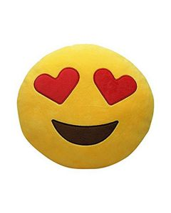 Smiley Round Pillow - Star