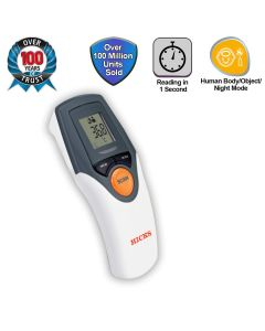 Non Contact Infrared Thermometer (White) - Hicks