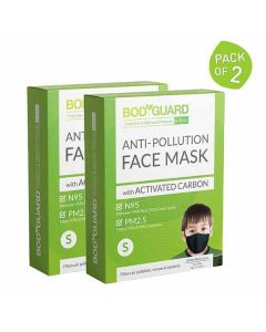 N95 + PM2.5 Reusable Pollution Mask - BodyGuard