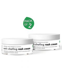 Anti Chafing Rash Cream for Rashes Due to Diapers, Pads, Walking (25gm Each) - Sirona