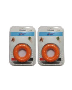 Silicon Rings - Small (Pack Of 2) - Star