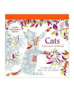 Cats Colouring Book For Mindfullness - IBD