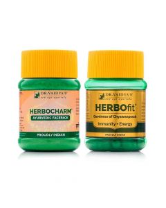 Skin Care Pack (Herbocharm Face Pack and Herbofit) - Dr Vaidya's
