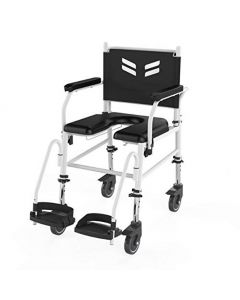 Frido Prime Assistant Propelled Shower Commode Wheelchair FPA007 - Arcatron Mobility