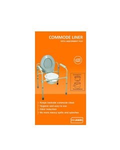 Disposable Bedside Commode Pail Liners (Pack of 12) - KosmoCare