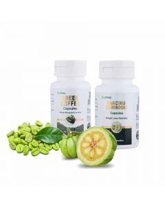 Slim and Healthy - Combo Pack of Garcinia (60 capsules) and Green Coffee (60 capsules) - GoYNG