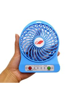 Mini USB Portable Rechargeable Fan - 5 Inch (Assorted Color)