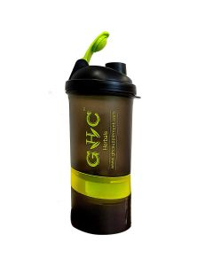 3 Compartment Shaker Bottle (500 ml) - GHC Herbals