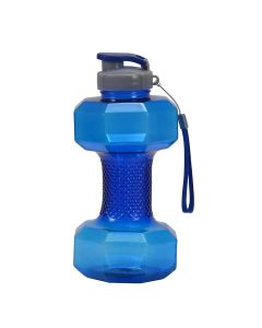Dumbell Water Bottle (1.5 litre) Blue - GHC Herbals