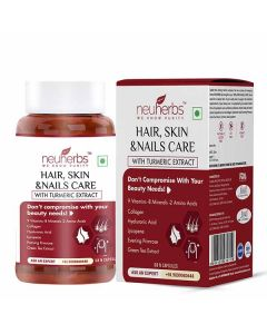 Hair - Skin & Nails Care Capsules with Turmeric Extracts (60 Capsules) - Neuherbs