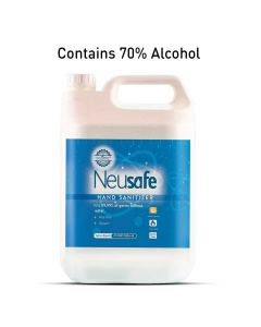70% Alcohol Based Hand Sanitizer with Lemon Fragrance - Neusafe