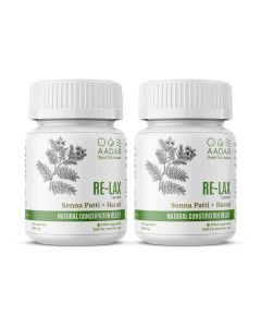 RE-LAX Capsules for Constipation Relief (60 Capsules) - AADAR
