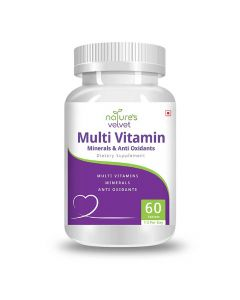 Multivitamins Minerals and Antioxidants (60 Tablets) - Natures Velvet