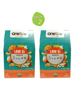 Low GI White Sugar 500 gm (Pack of 2) - One Life