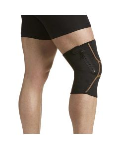 Copper Fit Plus Zippered Knee Support Sleeves