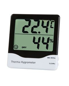 Temperature and Humidity Display Meter With Aarm Clock - K Kudos