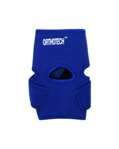 Ankle Support With Straps Blue - Orthotech