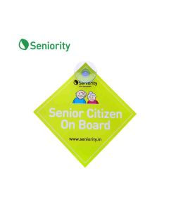 Senior Citizen On Board Sticker - Seniority
