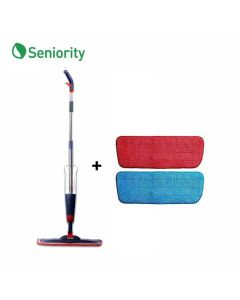 Spray Mop with 2 Replacement Micro Fibre Pads (Combo Pack) - Seniority