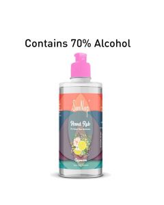 Alcohol Based Hand Sanitizer Lemon Fragrance - San Nap