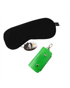 Sleep Mask and Key Chain Pouch Set - Friends of Meditation